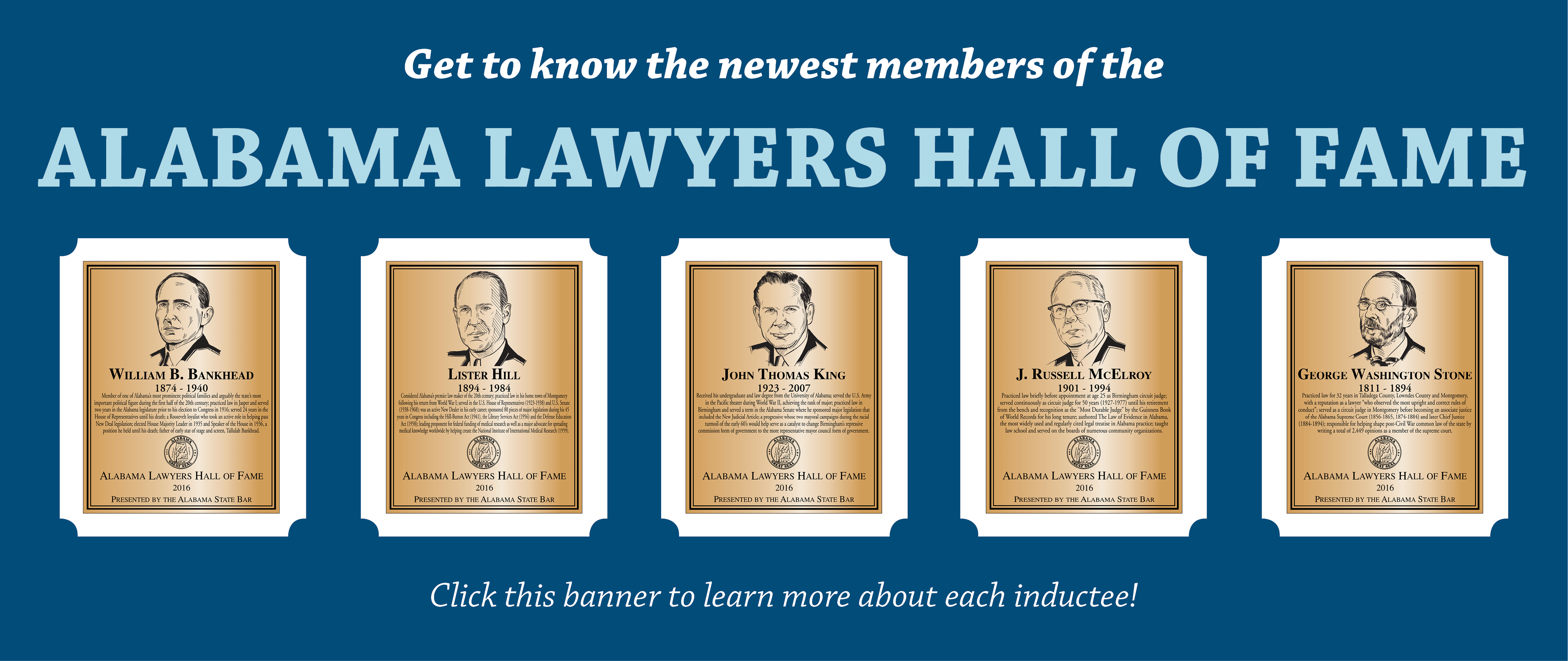 Alabama Lawyers Hall of Fame