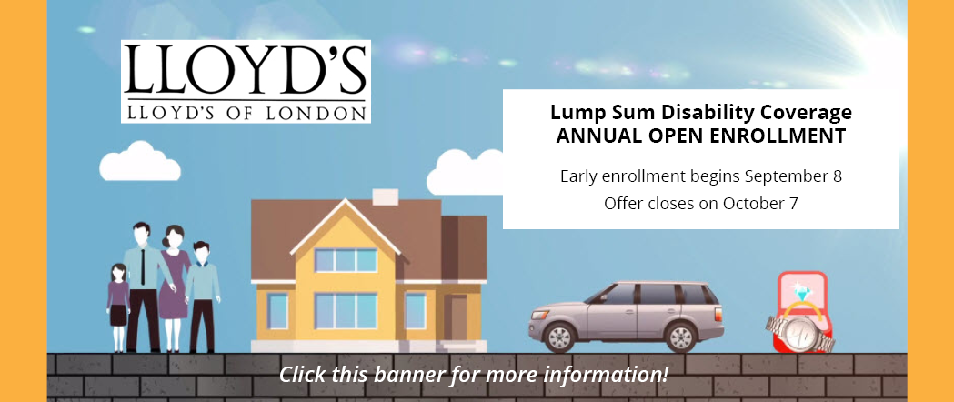 Lump Sum Disability 2016 Open Enrollment