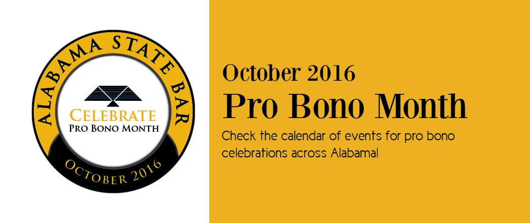 Pro Bono Month