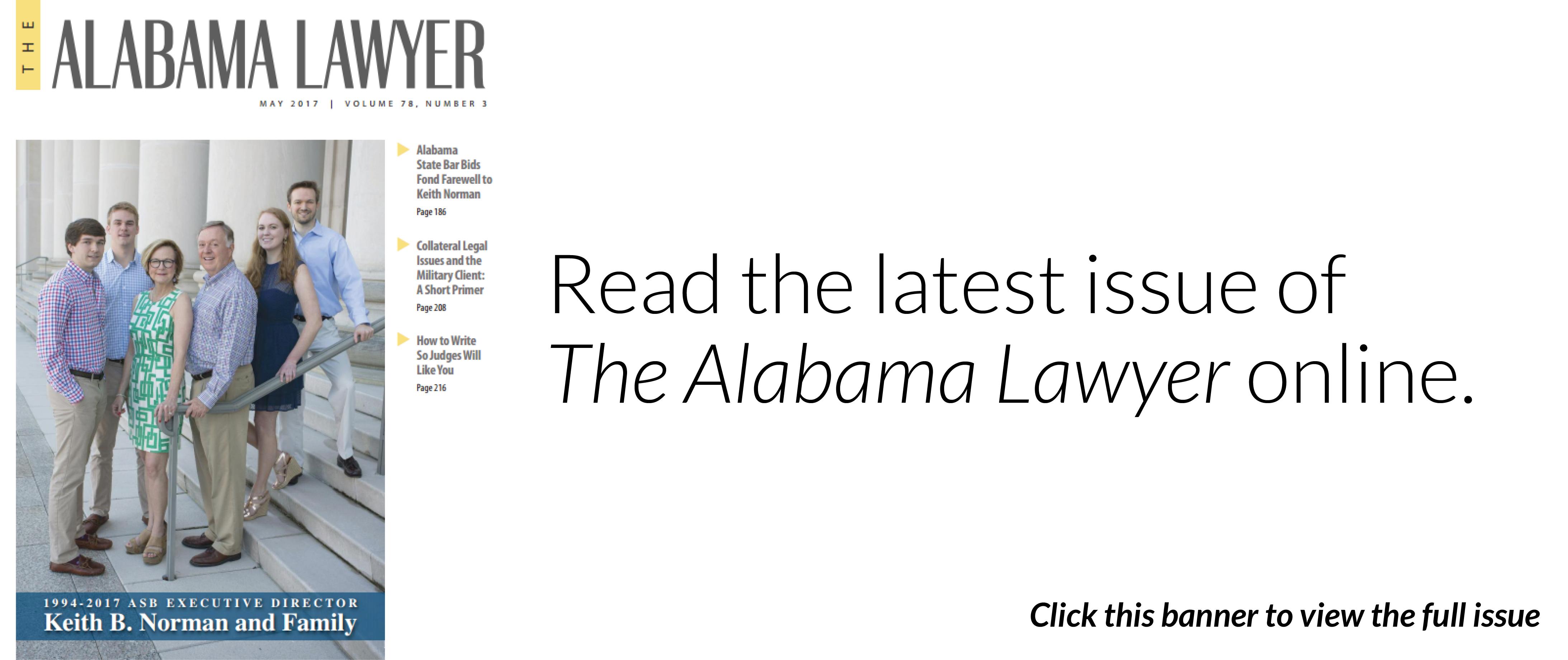 The Alabama Lawyer