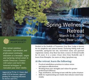 2020 Spring Wellness Retreat